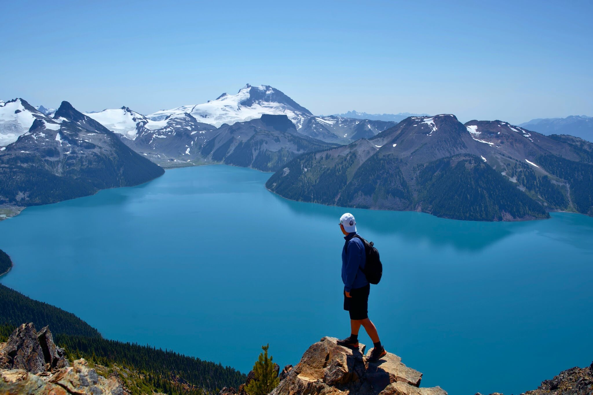 Overlooking Garibaldi Lake